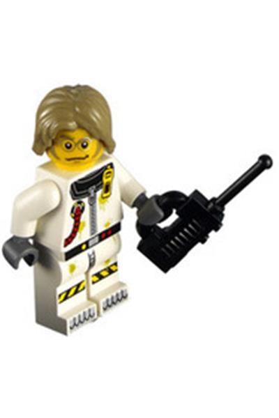 Lego Minifigure Alien Conquest Toxic Cleanup Scientist Ac010