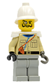 Baron Von Barron with Pith Helmet and White Epaulettes - adv039