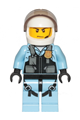 Police - Helicopter Pilot, Bright Light Blue Jumpsuit - cty1148