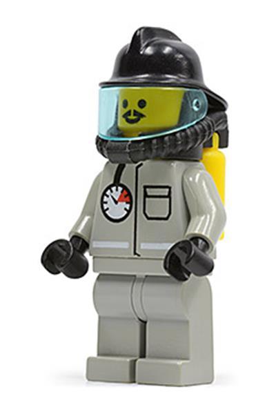 Fire Lego Minifigures Air Gauge and Pocket 6614 firec011