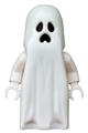 Ghost with Pointed Top Shroud with 1x2 Plate and 1x2 Brick as Legs - gen046