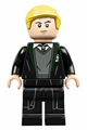 Draco Malfoy, Slytherin Sweater and Black Robe - hp229