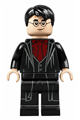 Harry Potter, Dark Red Shirt and Tie, Black Robe - hp232