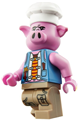 Pigsy with blue vest - mk011