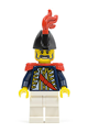Imperial Soldier II Governor with Red Plume and Red Epaulettes - pi111