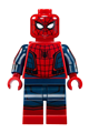 Spider-Man - Black Web Pattern, Red Torso Small Vest, Red Boots - sh420
