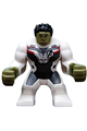 Big Figure Hulk with Black Hair and white jumpsuit - sh611