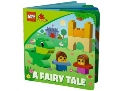 10559 15 pcs 1 1//2-4 Lego Duplo Read /& Build A Fairy Tale Storybook Inside