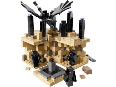 Lego Figur Minecraft Micromob Enderman min008  21107