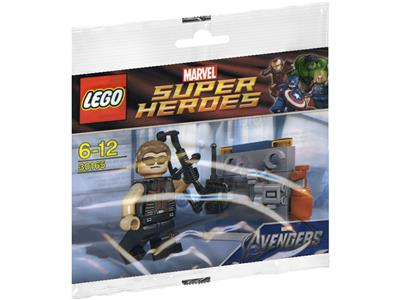 Hawkeye with Equipment Polybag Super Heroes Lego 30165 Promo