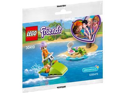 Mia's Water Adventure w// Turtle Polybag New! Lego Friends 30410