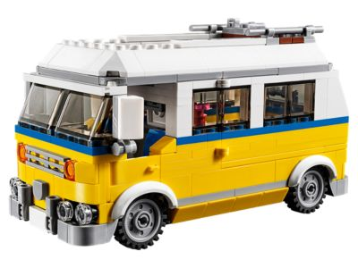 379 Pieces New LEGO Creator 3in1 Sunshine Surfer Van 31079 Building Kit