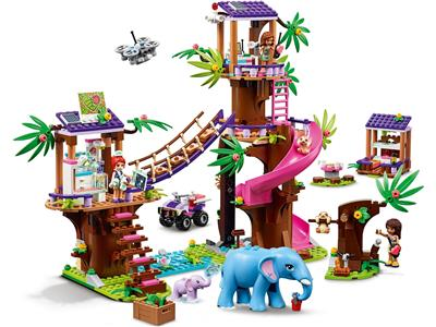 LEGO Friends 41424 Jungle Rescue Base Treehouse Age 8 648pcs