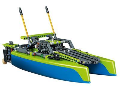 Lego 42105 Technic Catamaran Model Sailboat Building Kit Brand New Sealed