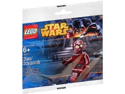 LEGO Star Wars 5002122 TC-4 Protocol Droid Minifigure Polybag sw546 NEW SEALED