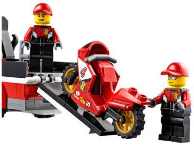 LEGO Figur Racers  Racing Bike Driver 2 rac057  60084