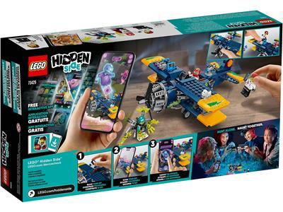 hs043 New Lego Jack Davids Minifigure From Hidden Side Sets 70429 /& 70435