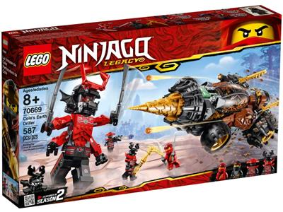 LEGO Ninjago 70669 Cole/'s Earth Driller Retired New Sealed Boxed year 2019