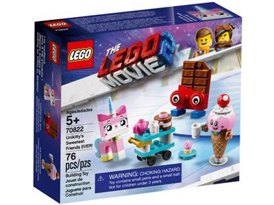 70822 The Lego Movie 2 The Second Part Unikitty S Sweetest Friends Ever Brickeconomy