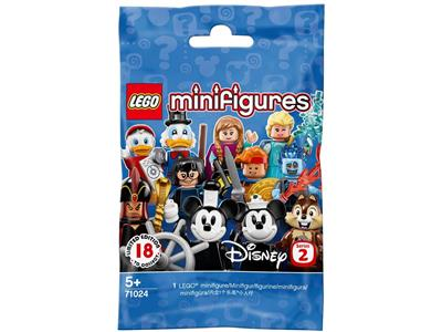 Disney Lego Minifigures Series 2 Jafar from Aladdin New Opened Foil