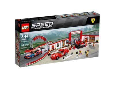 LEGO ® Speed Champions Sticker//Autocollant pour Ferrari en Set 75886 nouveau
