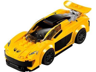 168 Pieces LEGO 75909 Speed Champions McLaren P1 TM