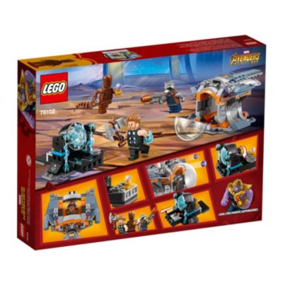 New /& Sealed Retired Set Lego 76102 Marvel Super Heroes Thor/'s Weapon Quest
