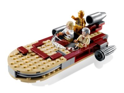 NEW SEALED LEGO 8092 STAR WARS LUKE/'S LAND SPEEDER OBI WON CP3-O