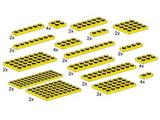 10012 LEGO Assorted Yellow Plates