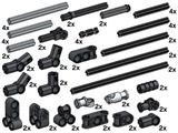 10074 LEGO Technic Cross Axles