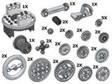 10076 LEGO Technic Gear Wheels