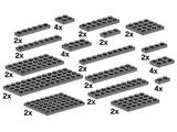 10149 LEGO Assorted Dark Grey Plates