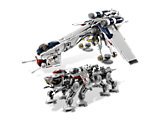10195 LEGO Star Wars The Clone Wars Republic Dropship with AT-OT Walker
