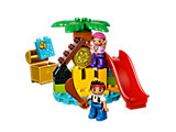 10604 LEGO Duplo Jake and the Never Land Pirates Treasure Island