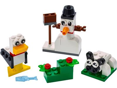 11012 LEGO Creative White Bricks