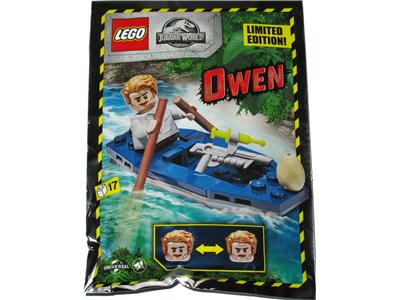 122007 LEGO Jurassic World Owen in Kayak