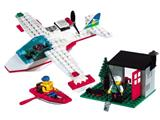 1817 LEGO Sea Plane with Hut and Boat