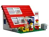 1854 LEGO House with Roof-Windows