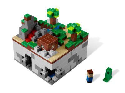 Original Lego Issue from Set #21102 Lego Minecraft Creeper Micromob