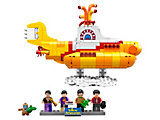 21306 LEGO Ideas The Beatles Yellow Submarine