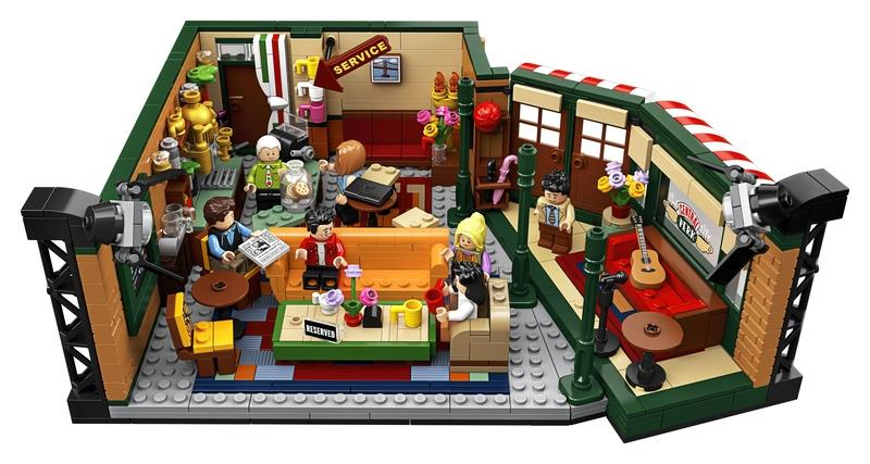 Phoebe Buffay Minifigs Ideas 21319 LEGO® idea061