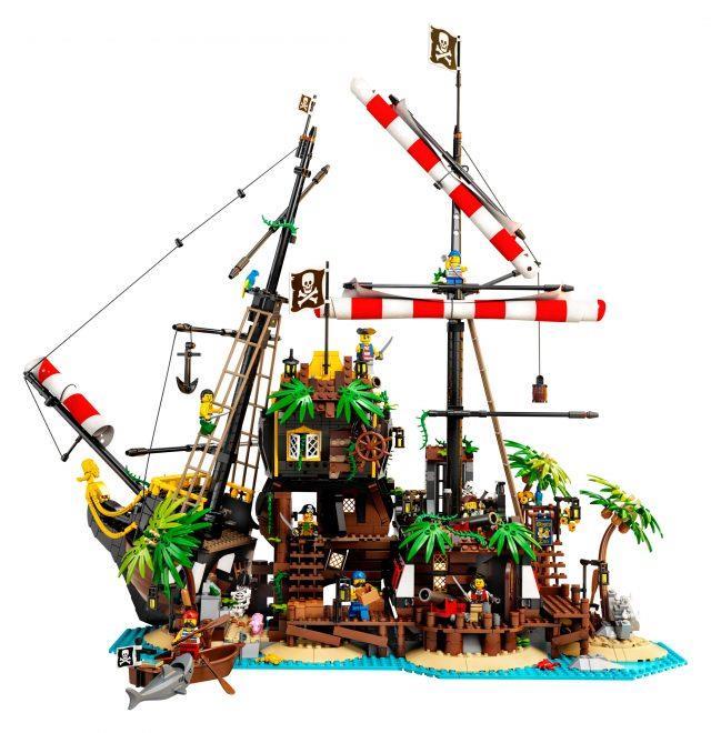 Lego 21322 Ideas Robin Loot Minifigure only rare Pirates of Barracuda Bay
