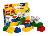 2277 LEGO Duplo Boy with Cat