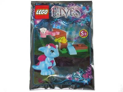 SPRY 6 x  Magazine LEGO ELVES mini figure MIKU JYNX FLAMY ENKI MR HIDEE