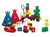 2436 LEGO Duplo Big Chief's Camp