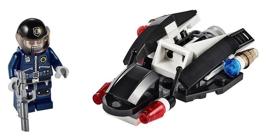 LEGO MOVIE new PROMO POLYBAG set 30282 Super Secret Police Enforcer Space Pilot