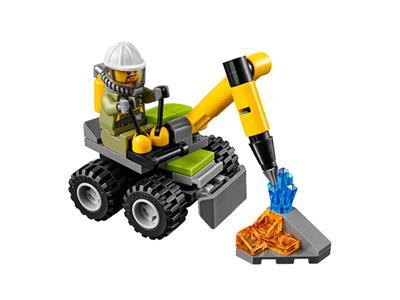 LEGO 30350 Volcano Jackhammer Retired Promotional item 53pcs