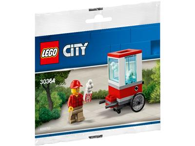 Lego City 30364 Popcorn Stand Polybag NEU