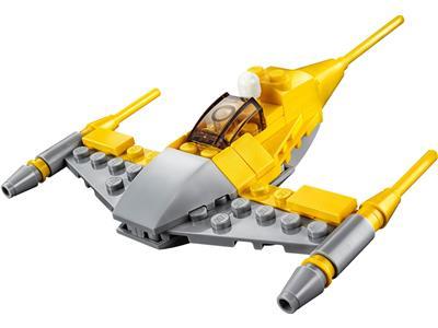 Lot Of 2 Lego Star Wars 49 Pc Snowspeeder /& 48 Pc Naboo Starfighter