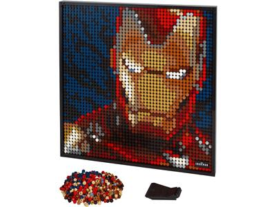 31199 LEGO Art Marvel Studios Iron Man